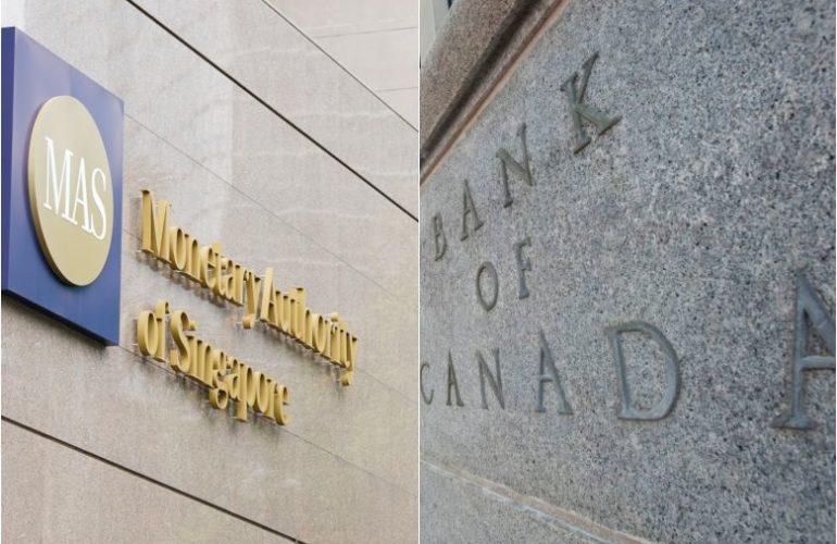 싱가포르-캐나다 중앙은행, 블록체인을 통한 국제 통화 거래 실험에 성공