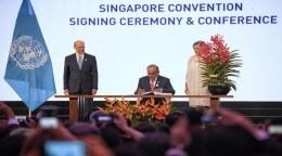 싱가포르 샹그릴라에서 46개국이 포함된 국제 중재 관련 조약 체결