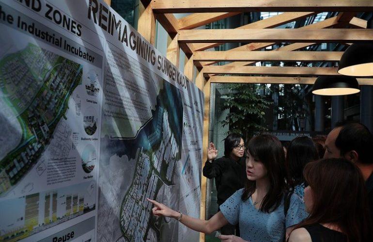 싱가포르에서 가장 노후화된 승게이 카둑, 4차산업 중심지로 탈바꿈한다