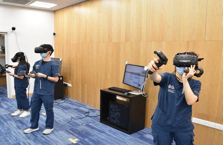 싱가포르 국립대, 의대 교육에 VR 도입